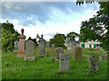 NH5349 : Kilchrist burial ground by Stephen Craven