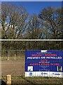 SP3568 : HS2 enabling works, South Cubbington Wood, Warwickshire (7) by Robin Stott