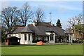 NS2776 : Ardgowan Club pavilion by Thomas Nugent