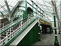 NZ3669 : Footbridge, Tynemouth Station by Geoff Holland