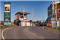SD8022 : Rawtenstall West Crossing, East Lancashire Railway by David Dixon