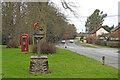 TM1178 : Palgrave village sign by Adrian S Pye