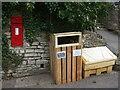 ST6263 : A new bin on the High Street by Neil Owen