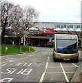 ST2995 : Thornhill bus in Cwmbran Bus Station by Jaggery