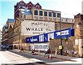 TQ3980 : Trinity Buoy Wharf : ghost sign by Julian Osley