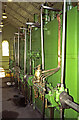 TA0434 : Cottingham Pumping Station - steam engine, cylinder level by Chris Allen