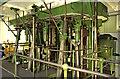 TA0434 : Cottingham Pumping Station - steam engine, crosshead level by Chris Allen
