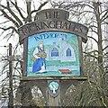 TM0375 : Rickinghall Inferior village sign by Adrian S Pye