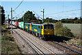 TL9023 : Approaching Marks Tey by Stuart Wilding