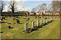 SE8812 : Crosby Cemetery by Richard Croft