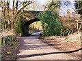 SD7713 : Bridge over the Lines at Tottington by David Dixon