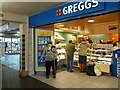SJ9494 : Greggs' scarecrow by Gerald England