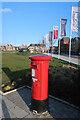 TL3967 : Postbox at Northstowe by Hugh Venables