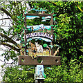 TM0551 : Ringshall village sign by Adrian S Pye