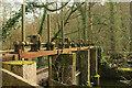 SX7863 : Sluice gates, Staverton by Derek Harper