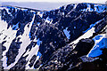 NN4971 : Crags of back wall of Garbh Choire by Trevor Littlewood