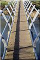 SP4576 : Footbridge over the River Avon by Stephen McKay