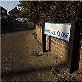 SZ0695 : West Howe: Mandale Close by Chris Downer