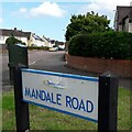 SZ0695 : West Howe: Mandale Road by Chris Downer