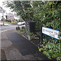 SZ0995 : Moordown: Meadow Court Close by Chris Downer