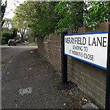 SZ0795 : East Howe: Merryfield Lane by Chris Downer