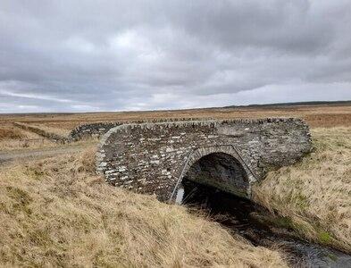 ND1251 : Stone Bridge, Bridgend Croft by David Bremner