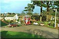 SX9189 : Former Exeter City Transport bus at Alphington terminus – 1973 by Alan Murray-Rust