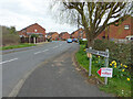 SO8652 : Grasshopper Avenue from St Peter's drive, Worcester  by Chris Allen