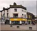 SJ8990 : Corner of Bridge Street and Mersey Way by Gerald England