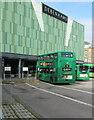 ST3188 : Newport Bus double-decker in Friars Walk Bus Station, Newport by Jaggery