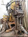NT2470 : Drilling rig  head by M J Richardson