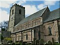 SE3651 : All Saints, Spofforth - south side of nave by Stephen Craven