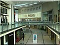 SJ8498 : The Arndale Centre under lockdown by Gerald England