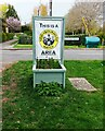 SP5318 : Neighbourhood Watch Area sign, Weston-on-the-Green, Oxon by P L Chadwick