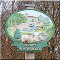 TF6819 : Leziate and Ashwicken village sign by Adrian S Pye