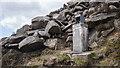 J3125 : Survey Point, Ben Crom Reservoir by Rossographer