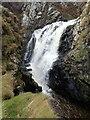 NO9091 : Ophelia's waterfall by Nigel Feilden