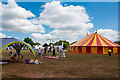 SO4622 : Circus on Garway Common by Stuart Wilding
