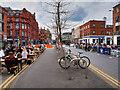 SJ8498 : Outdoor Dining in Stevenson Square by David Dixon
