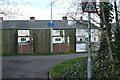 ST3085 : Cycle route next to Maesglas Close by M J Roscoe