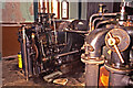 NZ2513 : Tees Cottage Pumping Station - gas engine by Chris Allen