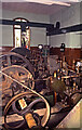 NZ2513 : Tees Cottage Pumping Station - pumps driven by gas engine by Chris Allen