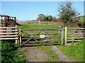 SD2882 : Gate on The Cumbria Way by Adrian Taylor