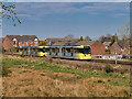 SD7908 : Metrolink Tram between Bury and Radcliffe by David Dixon