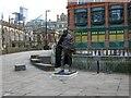 SJ8398 : Gandhi in Manchester by Gerald England