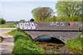 SK9472 : An old railway bridge along Cycle Route 64, Lincoln by Oliver Mills
