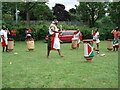 SP3279 : Burundian drummers, Nauls Mill Park by Alan Paxton