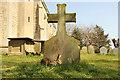 TF1765 : Churchyard hare by Richard Croft