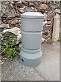 SH6267 : Telemetry bollard on Henbarc Road, Bethesda by Meirion