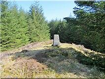 NS2698 : Creagan Hill trig pillar by John Ferguson